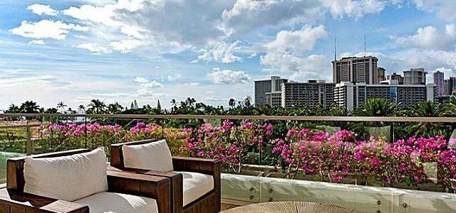 夏威夷Waikiki闹市5星级豪华酒店式公寓大降价
