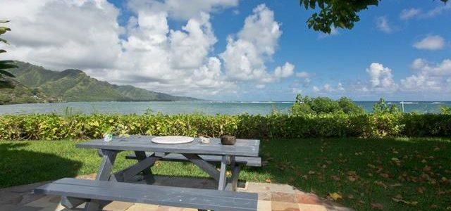 期待已久的夏威夷海边别墅,享受海边平静生活