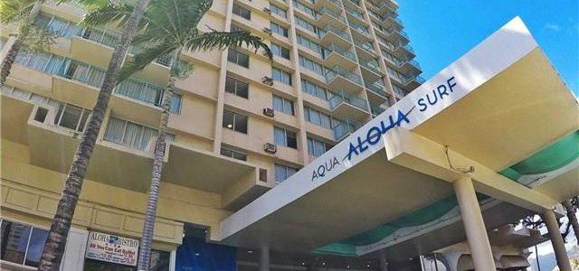 夏威夷威基基酒店式公寓,目前由Aqua集团管理