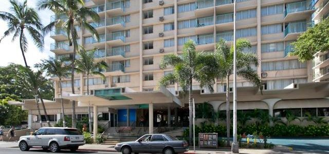 夏威夷著名的 Aloha Surf酒店一室户房,容易出租的酒店式公寓