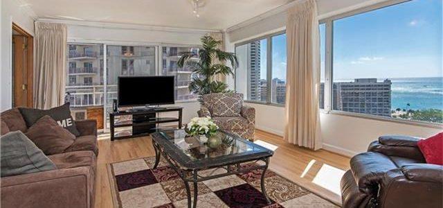 夏威夷威基基Ilikai酒店式公寓房,价格非常优惠