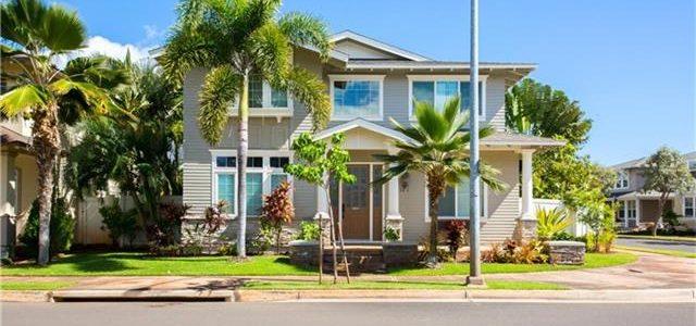 夏威夷艾瓦别墅区大转角位置样板房别墅