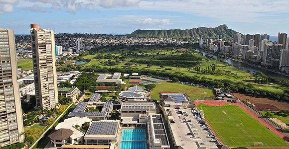 Iolani School夏威夷排名第二的著名私立学校