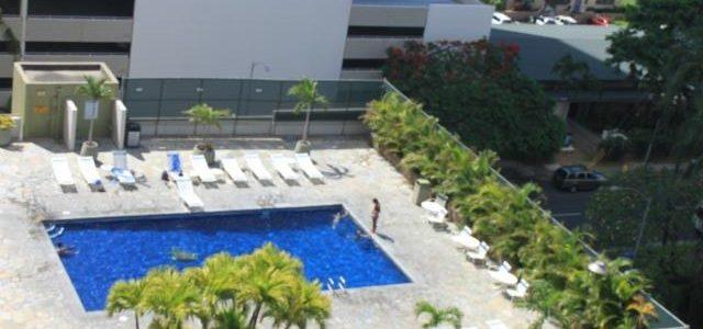 夏威夷檀香山Waikiki闹市酒店内的公寓,最好出租的一类房子