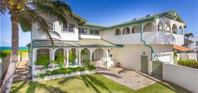 夏威夷海边沙滩高级大别墅 无敌海景房