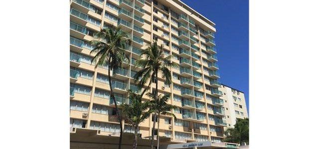 夏威夷威基基市中心酒店式公寓,Aloha Surf Hotel酒店9楼