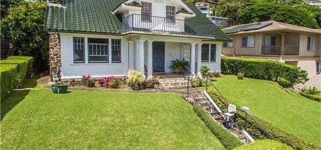 夏威夷欧湖岛历史感强的大豪华别墅