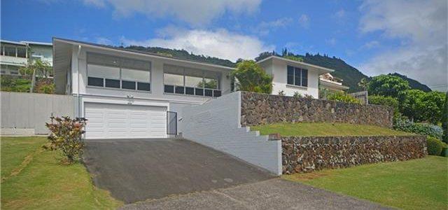 夏威夷欧湖岛稀有地段豪华别墅,房子结构非常好