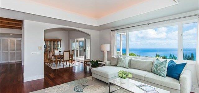 夏威夷最高档小区山上豪华大别墅