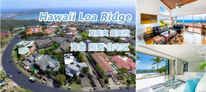 Hawaii Loa Ridge